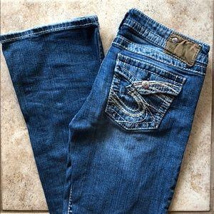Women's Silver jeans Size W29/L33